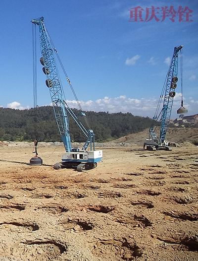 摩托车产业园土石方强夯工程