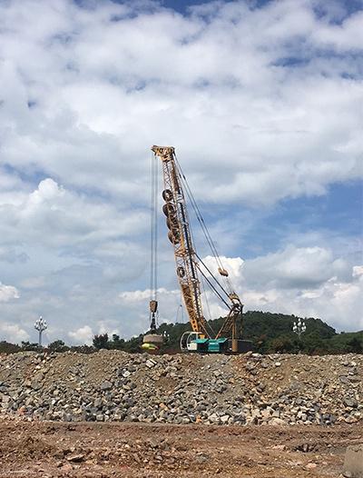 兴义强夯地基项目施工