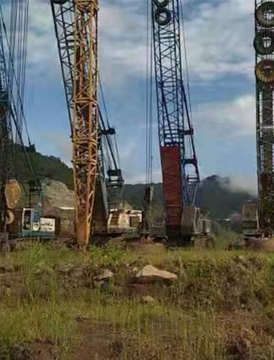 世界村新能源土石方强夯项目