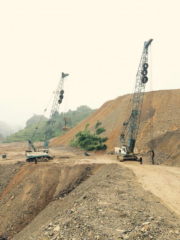 民用机场项目地基强夯工程